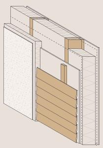 Holzskelettbau wandaufbau  Holzständerbau | DAS INFOPORTAL ZUM HOLZHAUSBAU